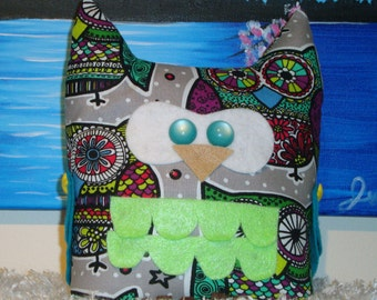 Ossie The Owl Pulshie