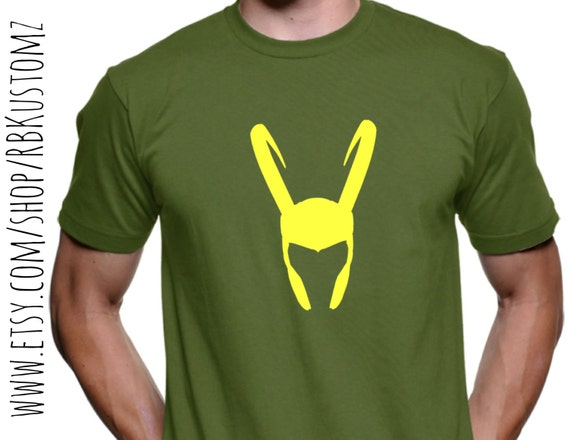 Superhero loki shirt custom tshirt heat vinyl transfer for Customized heat transfers for t shirts
