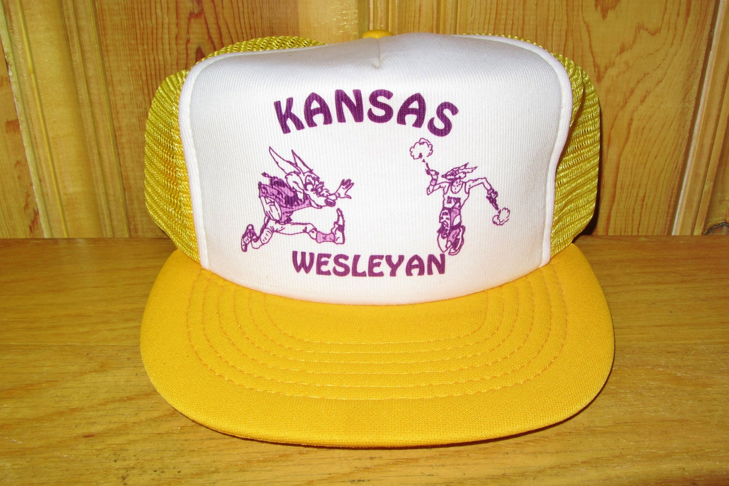 University of Kansas Wesleyan Coyotes Original Vintage 80s ...
