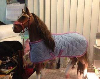 AG  / Toy horse Custom Blanket