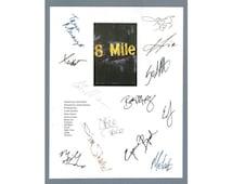 8 Mile Eight Script Signed Screenplay Autographed: Eminem, Brittany Murphy, Kim Basinger, Michael Shannon, Mekhi Phifer, 50 Cent