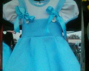 Dorothy inspired dress