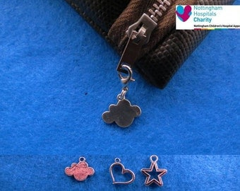 TFIOS zip pull / key ring attachment / pet collar charm
