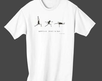 "Fly Town Comic's Tee Shirt - ""Yoga"""