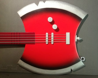 Customized Marceline's Ax Bass from Adventure Time!