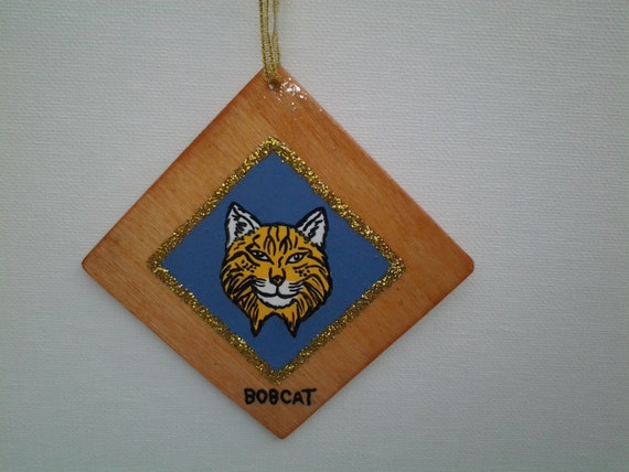 Cub Scout Christmas Ornaments Personalized with name by ...