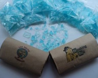 8 BAGS!! Party Pack Breaking Bad Blue Sky Rock Candy, Walter White, Heisenberg