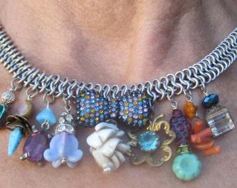 Vintage Charmed Necklace
