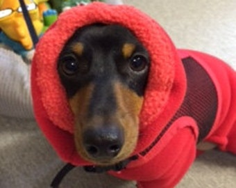 Doxie Togs™  Warm Dachshund Winter Body Suit-custom made