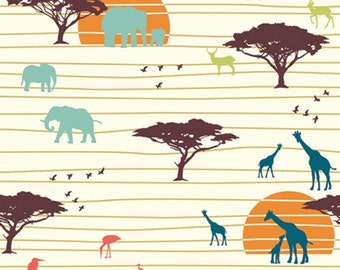 Serengeti - The Plains - Jay-Cyn Designs - Birch Fabrics (SG-01) - Organic Cotton