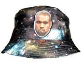 Kanye west galaxy bucket hat