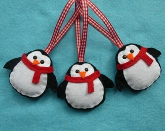 Handmade Penguin Decoration