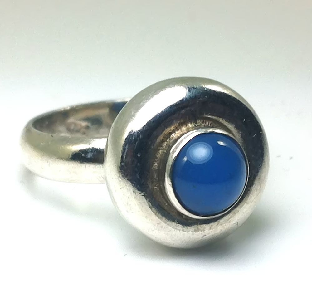 lapis ring lapis silver ring sterling silver ring by