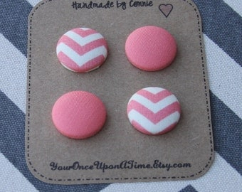 Magnets-Fabric Covered Button Magnets-Set of 4, refrigerator magnets, magnet board, magnetic, Cute magnets, Strong magnets, Fridge magnet