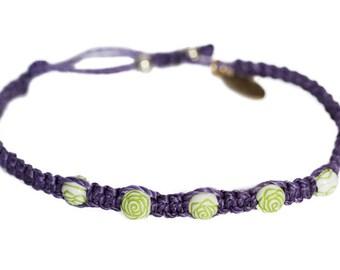 Neon Rose Bud Bracelet | PurpleDirt | ShopPurpleDirt