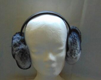 Real Fur Earmuffs - Rex