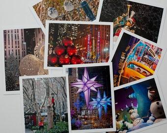8 NYC Christmas Cards