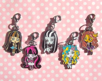 Cute Chibi Monster character charms
