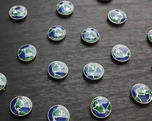 Earth Floating Charm for Floating Lockets-Gift Ideas