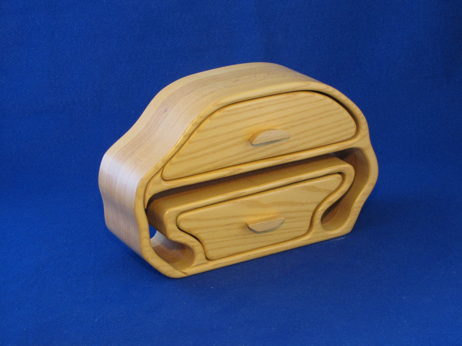 Two Drawer Band Saw Box For Storing Fairly By