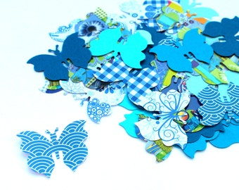 Butterfly Confetti, Various Colours, Rustic Wedding, Table Décor, blue butterfly, topper, wedding, yolo, swag