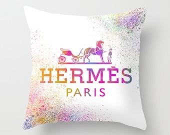 replica hermes throw pillows