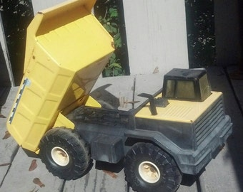 Collectible Tonka Dump Truck XMB 975 / Pressed Steel Tonka Dump Truck / Mighty Tonka Toy Dump Truck / Collectible Toy / Best Gift Idea/F459