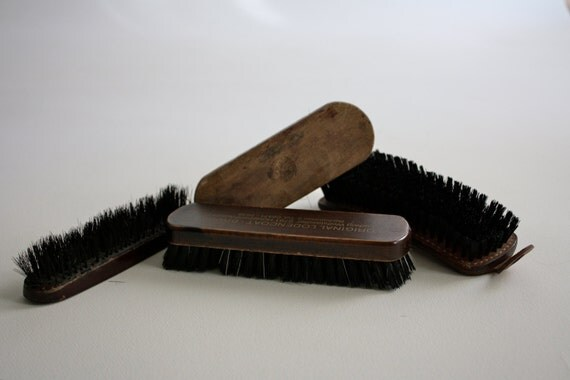 how to clean horsehair brush polish