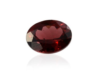 Mozambique Red Garnet Loose Gemstone Oval Cut 1A Quality 9x7mm TGW 2.00 cts.