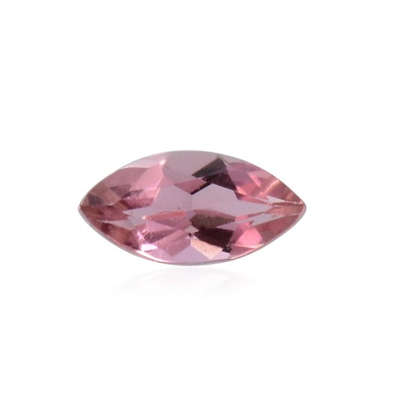 pink tourmaline gemstone marquise cut 1a quality 5x2 5mm