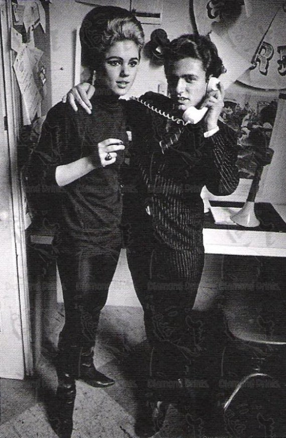 COOL RARE Edie Sedgwick x Andy Warhol Photo Picture Art