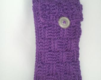 Sunglasses or eyeglass case, crocheted