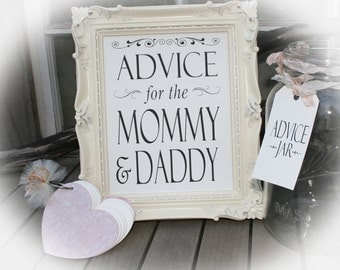 Great Baby Shower Guest Book Alternative Advice For The Mommy U0026 Daddy~ Baby Shower