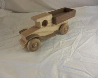 Vintage looking wood truck