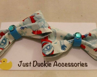 Bumble Duck Tape bows, bobby pin pair