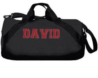 Personalized Kids\\\' Sports Duffel Bags Personalized Black Duffel Bag