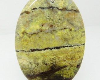 Serpentine Stone Pendant #31