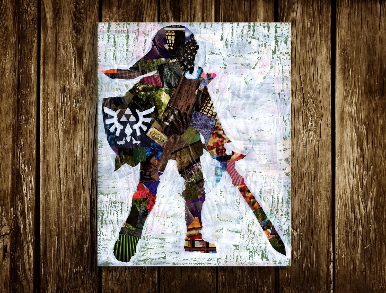legend of zelda wall art zelda poster zelda decor kids room