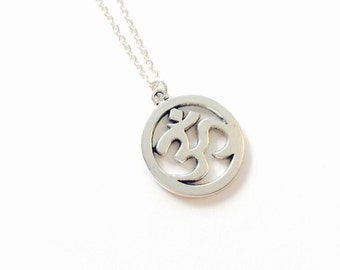 SALE - Om Charm Necklace