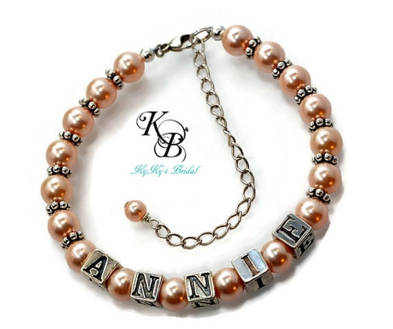 Baby Gifts Jewellers : Personalized baby bracelet gifts by