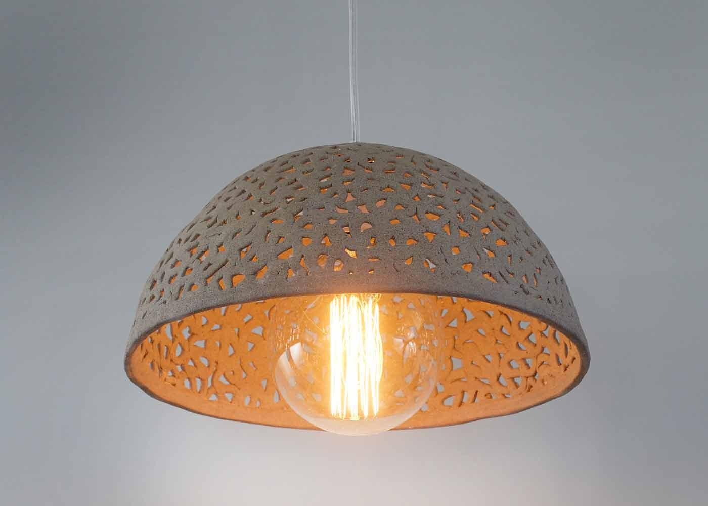 ceramic l shade dome pendant light pendant lighting