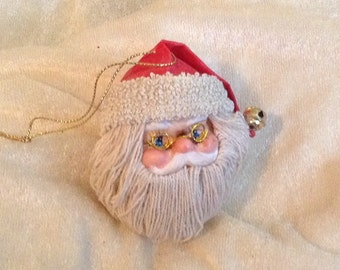 Santa Claus With Glasses Ornament