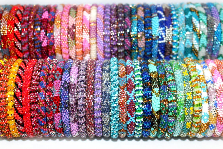 Seed Beads Bracelets Designs Glass Seed Bead Bracelet