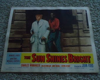 Original 1953 The Sun Shines Bright Lobby Card Movie Poster John Ford Merian C Cooper
