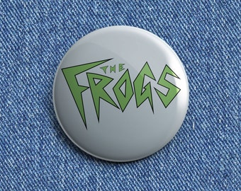 The Frogs Psychobilly button