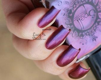 SPELL POLISH Magichromes™: Magic Happens ~Smile Transference~ multichrome nail polish!