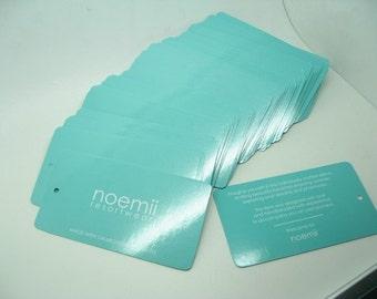 """500 hang tags printing, hang tags, swing tags, Large 2""""x6""""  (50x152mm)"""