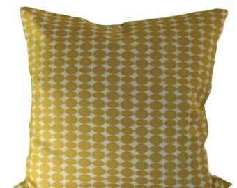 """Dwell Studio Almonds Citrine 20"""" pillow Robert Allen Fabric"""
