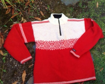 Norwegian sweater by Norwool of Norway size M