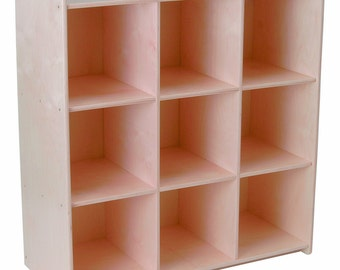 Storage Cubby, Storage Shelves, Unfinished Wood Furniture